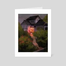 Summer Evenings - Art Card by James Fenner