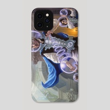 The Cerulean League - Phone Case by Craig Maher