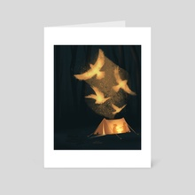 Light & Shadows - Art Card by artscapade