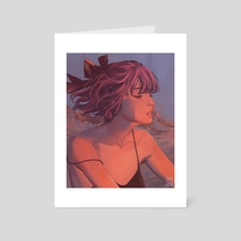 Sunset - Art Card by miriam