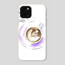 Morning coffee - Phone Case by Lukyanova Maria