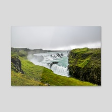 I Spy Iceland - Canvas by Alex Tonetti