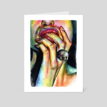 Your soul is yummy - Art Card by Olesya Umantsiva