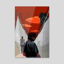 Righless - Acrylic by Matt Rota