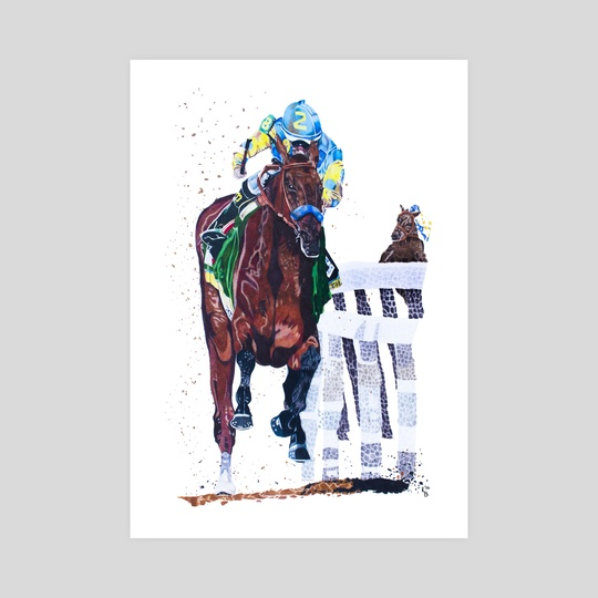 American Pharoah by Katie Bratcher