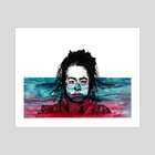 water is thick, blood is thicker - Art Print by Sam Platten