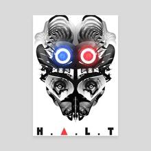 H.A.L.T. - Canvas by Lennart Verhoeff