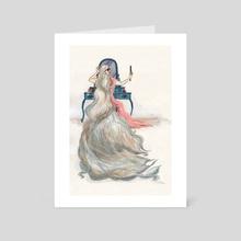 Beyond 100 - Art Card by Michelle Kondrich