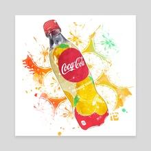 Coca Colo Orange Vanilla - Canvas by Itadaki_Yasu
