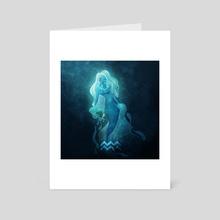 Aquarius - Art Card by Elisabeth Vaulin