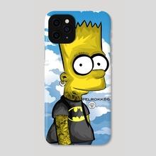 Bart Simpson - Phone Case by Ephrem Rokk