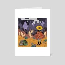 Citrus the adventurer - Art Card by Vivvian