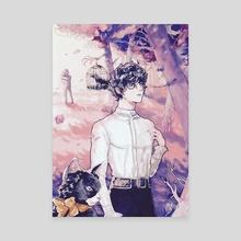 """""""Art Nouveau"""" Joker - Canvas by Ether Beam"""
