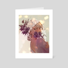 Orchid - Art Card by Sze Beh