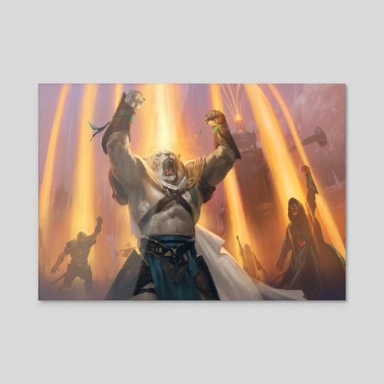 Ignite the Beacon by Slawomir Maniak