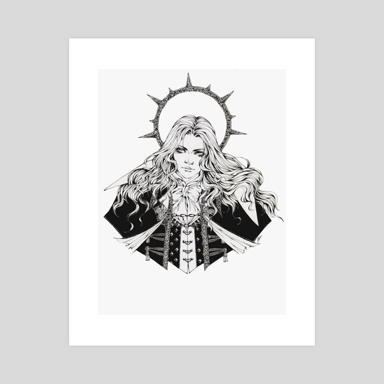 Alucard - Castlevania Symphony Of The Night by Nezumiyasha