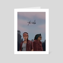 The Wilds - Dot and Fatin - Art Card by Lola Jay
