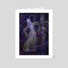 STP Screen Transfer Process - 0168 - A Field Less Empty 3 - Art Card by Wetdryvac WDV