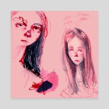 Self - Canvas by Mackenzie Quick