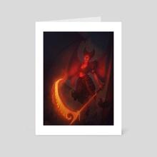 Daemon - Art Card by Luke Clough
