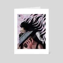 Premeditation - Art Card by Carly Janine Mazur