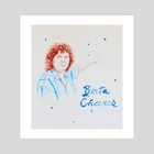 Berta Caceres - Art Print by Joseph Patton