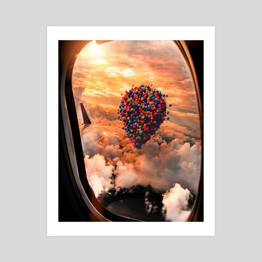 Balloon Clouds by Kevin Lauwren