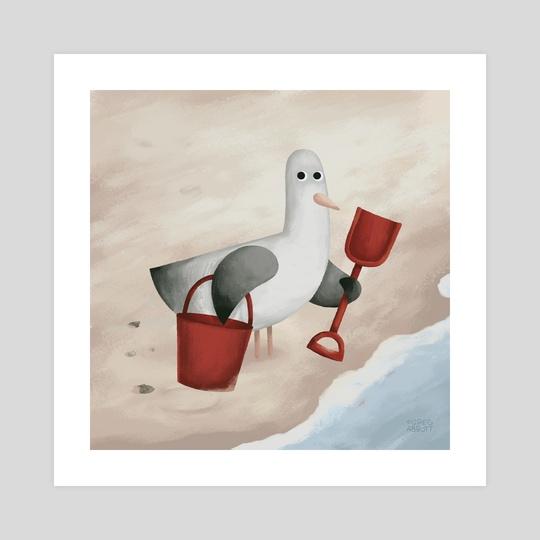 Bucket And Spade by Greg Abbott