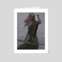 The Last Elven Arrow - Art Card by Claudio Pozas