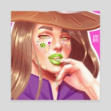 Gyro Zeppeli - Canvas by Madison Ross
