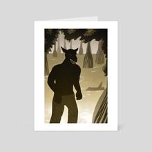Rougarou - Art Card by Daina Heeter