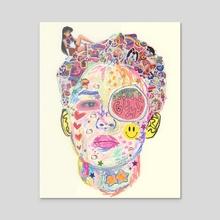bubblegum - Acrylic by ttalgikink