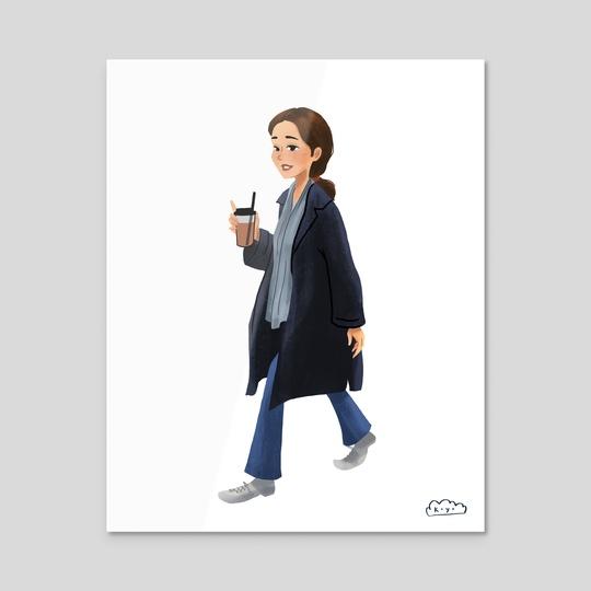 French Girl by Kaya Lee