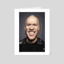 Michael Keaton - Art Card by Rob Snow