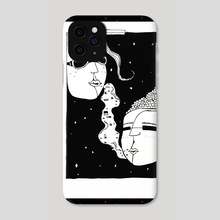 Whispered Smoke - Phone Case by velvet paint