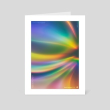 "WWP 207 ""Chromosphere"" - Art Card by Martin Naumann"