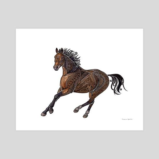 Grecian Horse by Zanna Field