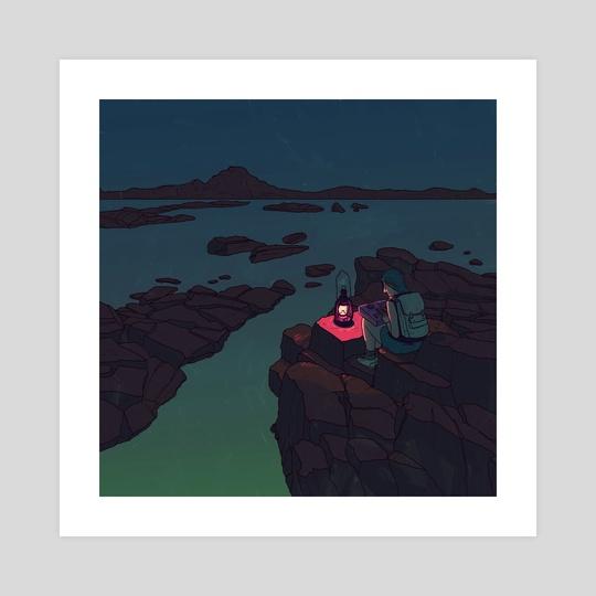 Lamplight by Laurent Hrybyk