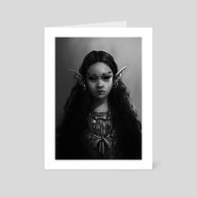 Elf Girl - Art Card by Sophia Volovik