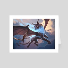 Skycat Sovereign - Art Card by Slawomir Maniak