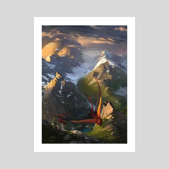 Dancing Mountains by Melinda Vass