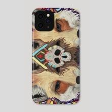 Cadaverous Foxes - Phone Case by Tyler Dixon