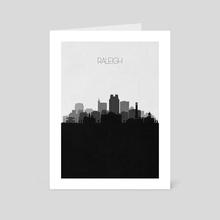 Raleigh - Art Card by Deniz Akerman