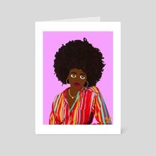 Unbothered - Art Card by Malaaya Adams