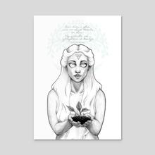 Bain Diom, A Ghra...  - Acrylic by Ciaraíoch