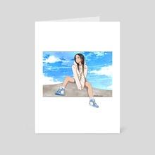 Valkyrae - Art Card by Blaire