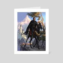 Turin Turambar - Art Card by Candra Hope