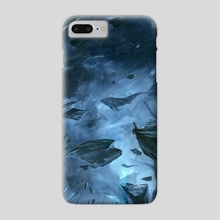 The Void - Phone Case by Susanne Bergø