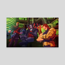 Age of Apocalypse - Sinister and the prelates - Canvas by Joel Furtado