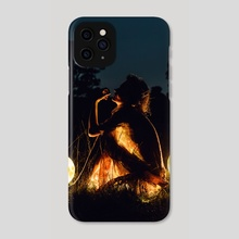 Selenophile - Phone Case by Justin Peters